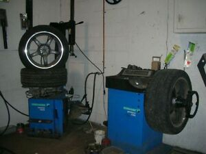 TIRE CHANGE  & BALANCE Kitchener / Waterloo Kitchener Area image 1