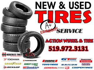 @ Action Wheel & Tire 16,17,18,19,20 Assorted Sets Of New Tires Windsor Region Ontario image 1