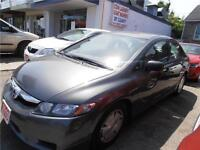 2010 Honda Civic DX Sedan Auto Grey Only 60,000km