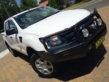2014 Ford Ranger PX XL 3.2 (4x4) White 6 Speed Automatic Dual Cab Utility Belconnen Belconnen Area Preview