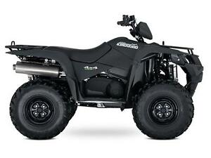 KINGQUAD 500AXI POWER STEERING MATTE BLACK West Island Greater Montréal image 1