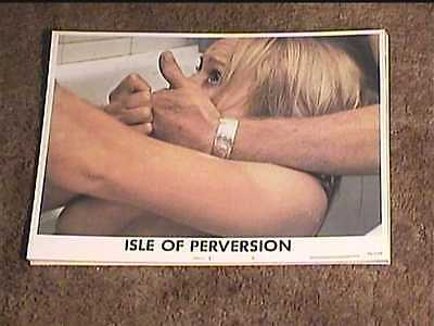 ISLE OF PERVERSION 1976 LOBBY CARD #6 HORROR