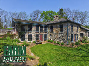 One of a kind Stone Home Estate with over 165 years of history!