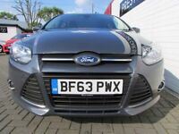 FORD FOCUS 1.6 ZETEC ECONETIC TDCI 5d 104 BHP (grey) 2013