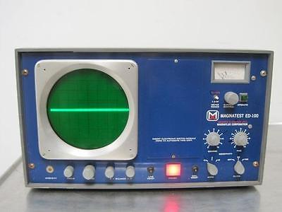 Magnaflux Magnatest Ed-100 Magnetic Classifying Unit Rare Used 30 Day Guarantee