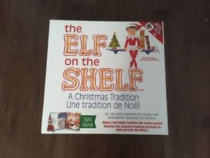 Elf on the Shelf with Book (girl)