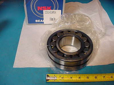 Nsk 22314 Cam E4 C3 Spherical Roller Bearing 70mm Id X 150mm Od X 51mm W