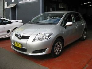 2008 Toyota Corolla ZRE152R Ascent Silver 4 Speed Automatic Hatchback Camden Camden Area Preview