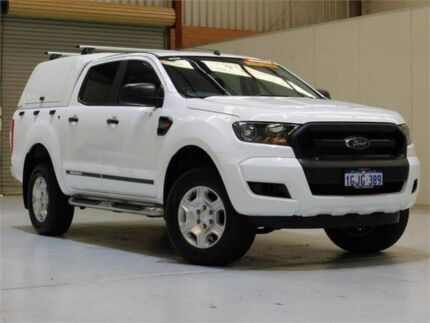 2017 Ford Ranger PX MkII XL Double Cab 4x2 Hi-Rider White 6 Speed Sports Automatic Utility Bibra Lake Cockburn Area Preview