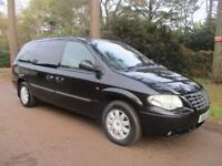 CHRYSLER GRAND VOYAGER 2.8 LIMITED 5d AUTO 150 BHP (black) 2006