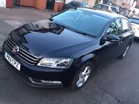 2011 VOLKSWAGEN PASSAT 2.0 TDI DIESEL BLUEMOTION TECH BLACK SALOON USE UBER PCO NOT MONDEO INSIGNIA