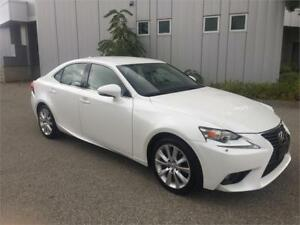 2014 LEXUS IS250 ALL WHEEL DRIVE 42KM AUTOMATIC