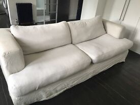 THREE SEATER SOFA - FREE FOR COLLECTION ONLY.