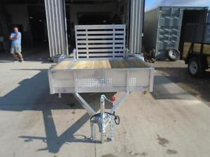 SOLID SIDED ALL ALUMINUM UTILITY TRAILER - LIGHT WEIGHT 3YR WRTY London Ontario image 5