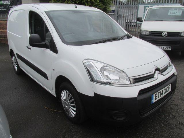 Citroen Berlingo 1.6 E-Hdi 625Kg Airdream LX 90PS DIESEL MANUAL WHITE (2014)