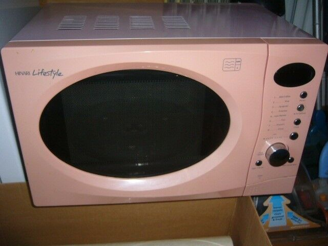 Microwave Cooker Oven Pink Hinari Lifestyle 800 W Good