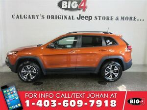 2016 Jeep Cherokee Trailhawk, Bluetooth, Sunroof, V6