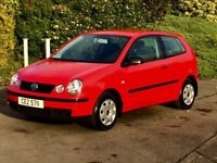 Volkswagen polo 1.2 E Full years mot six months warranty excellent condition tel 07554374590