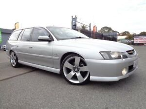 2004 Holden Commodore VY II SS Silver 4 Speed Automatic Wagon Pooraka Salisbury Area Preview