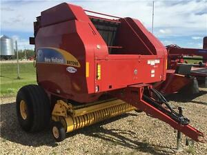 2012 NEW HOLLAND BR7090 ROUND BALER (TWINE)