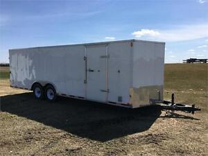 CLEARANCE! 8.5' x 24' Carry-On Enclosed Carhauler Trailer
