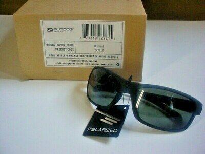 NWT SunDog Sunglasses  DISCREET #227212 FISHING GOLF  Polarized Lens REG. (Sundog Polarized Sunglasses)