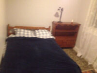 Furnished room in great location. Length of stay is flexible