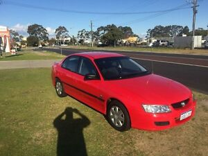 2005 Holden Commodore VZ 157000km Red Automatic Sedan Wangara Wanneroo Area Preview