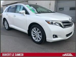 2015 Toyota Venza LIMITED 4WD - CUIR - GPS - TOI PANO - PERLE