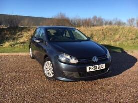 Volkswagen Golf 1.6TDI Tech 2012 BLUEMOTION *LOW MILES, £0 ROAD TAX, FSH*