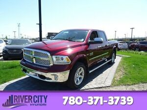 2016 Ram 1500 4WD CREWCAB LARAMIE Navigation (GPS),  Leather,  H