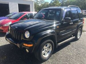 2001 Jeep Cherokee XJ Classic Black 4 Speed Automatic Wagon Caloundra West Caloundra Area Preview