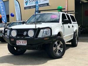 2007 Holden Rodeo RA MY07 LX (4x4) White 5 Speed Manual Crew Cab Chassis East Brisbane Brisbane South East Preview