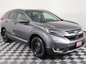 2017 Honda CR-V TOURING w/PANORAMIC ROOF, NAVIGATION, ONE LOCAL