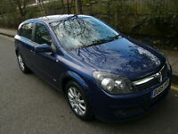 2005 VAUXHALL ASTRA AUTOMATIC. HALF LEATHER INTERIOR, WHOLE CAR IN VERY GOOD CONDITION, DRIVES GREAT
