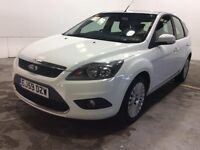 Ford Focus 1.6 tdci diesel TITANIUM 5 DOOR 1 owner diesel value any trial