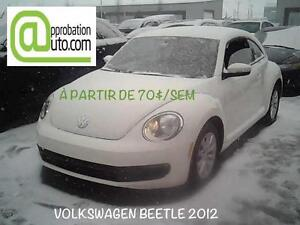 2012 Volkswagen Beetle Highline, À PARTIR DE 70$/SEMAINE