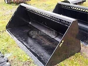**SNOW BUCKET SALE** NEW HEAVY DUTY SKID STEER HLA HIGH VOLUME S