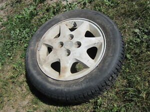 Ford Escort Tires - R175-65-R14 – with Factory Rims - 4 set