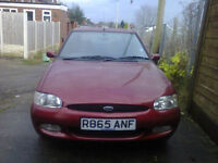 Ford Escort Estate 1.8 16v, ONLY 14K MILES! , metallic red, one careful owner since new