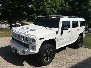 2008 HUMMER H2 4X4 EXHAUST NAVIGATION 114KM UPGRADED ALLOYS