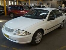 2001 Ford Falcon Auii Forte White 4 Speed Automatic Sedan Georgetown Newcastle Area Preview