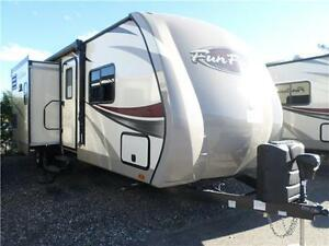 Fun Finder 299 Quad Bunk Travel Trailer