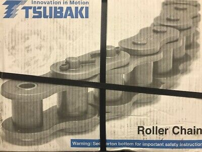 Tsubaki Roller Chain Riveted 100 Ansi 10 Ft. New In Box