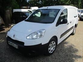 2013 Peugeot Partner 1.6HDi NO VAT Crew Van S L2 GUARANTEED MILES 5 SEATER