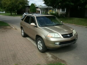 2001 Acura MDX VUS