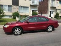 2003 FORD TAURUS. AUTOMATIC. 75 000km. FULL EQUIPER. 2200$