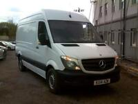 Mercedes-Benz Sprinter 313 MWB H/R EURO 5 DIESEL MANUAL WHITE (2014)