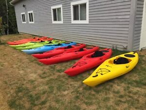 Riot Quest 10 ft recreational kayaks Last Few On Sale 39lbs!