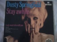 Vinyl LP Dusty Springfield Stay Awhile Wing WL 1211 Mono 1969